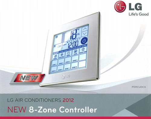 New 8 zone controller